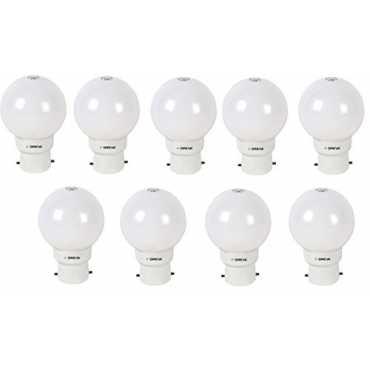 Oreva 1W LED Bulb (Cool Day Light , pack of 9) - White
