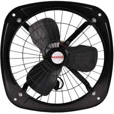 Sameer 1350rpm 230mm 3 Blade Exhaust Fan - Black