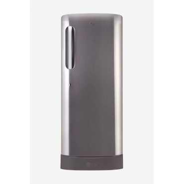 LG GL-D241APZX 235 L 4 Star Inverter Direct Cool Single Door Refrigerator - Steel