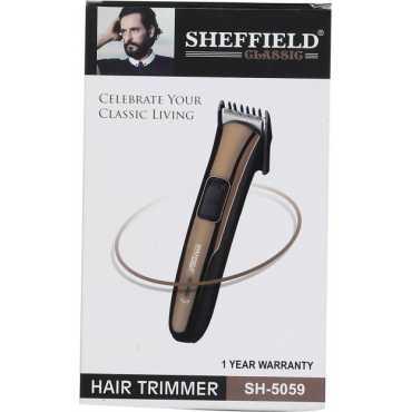 Sheffield Classic SH-5059 Cordless Trimmer - Black