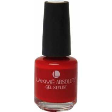 Lakme  Absolute Gel Stylist Nail Polish (Tomato Tango)