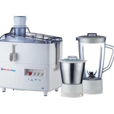 Bajaj JX 4 2 Jars 450 Watts Juicer Mixer Grinder - White