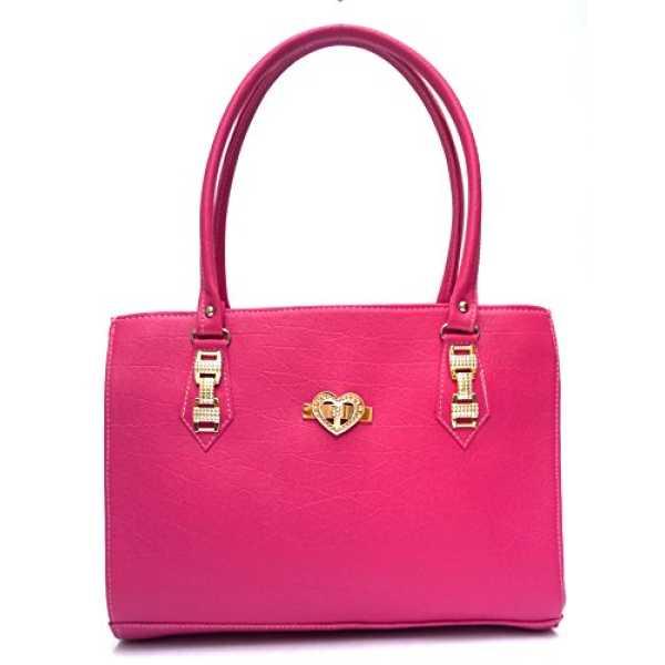 Vintage Stylish Ladies Handbag Pink bag L9252