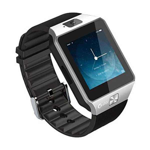Chilli Z101 Smart Watch - Brown   Silver   Black