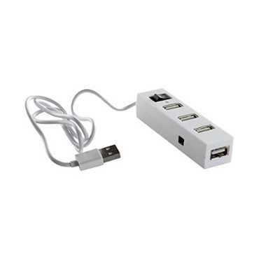 Ad-net AD715 4 Port USB Hub - White