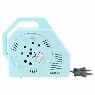 Cona 2771 Smyle King Deluxe 3 Socket 2 Pin Flex Box (7.25m) - White   Blue