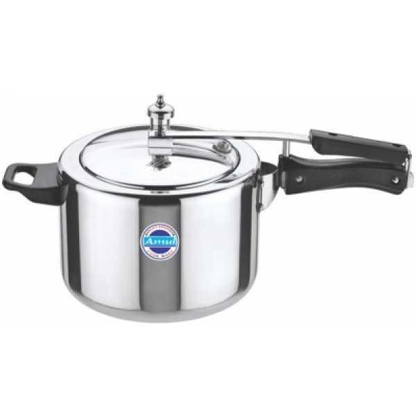 Amul Deluxe Aluminium 3 L Pressure Cooker (Inner Lid)