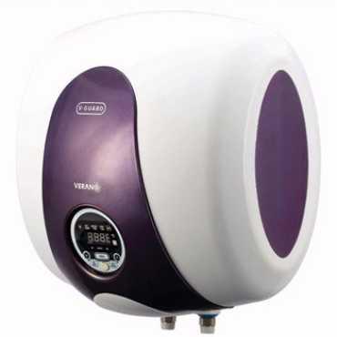 V-Guard Verano 25L Storage Water Geyser - White | Purple