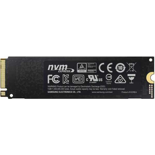 Samsung 970 evo plus NVMe M.2 500GB Internal Solid State Drive