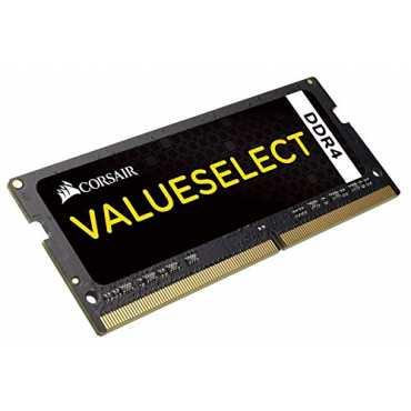 Corsair Valueselect (CMSO4GX4M1A2133C15) 4GB DDR4 Ram - Black