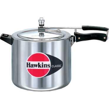 Hawkins Classic CL10 Aluminium 10 L Pressure Cooker (Inner Lid)