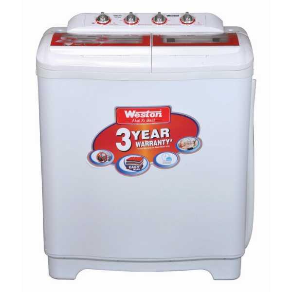 Weston 8 Kg Semi Automatic Washing Machine (WMI-803)