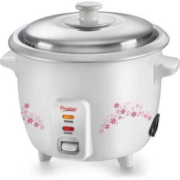 Prestige Delight PRWO - 1.0L Electric Cooker - White
