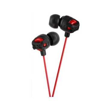 JVC Kenwood HA-FX101 Xtreme Xplosives Headphones - Pink | Red