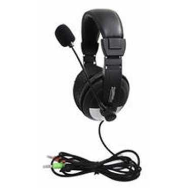 Zebronics H-100Hm On the Ear Headphones - Black