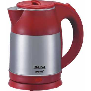 Inalsa Wow 1.8 L Electric Kettle - Grey | Red