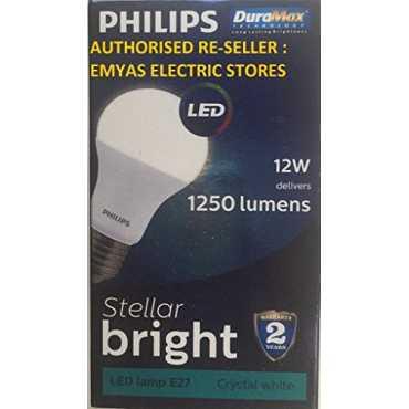 Philips 12W E27 LED Bulb Cool Day Light Pack of 2