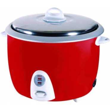 Roxx Vector 1.8 Litre Electric Rice Cooker - Beige | Red