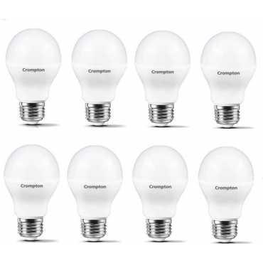 Crompton Led Pro 7W Standard E27 600L LED Bulb (White,Pack of 8) - White