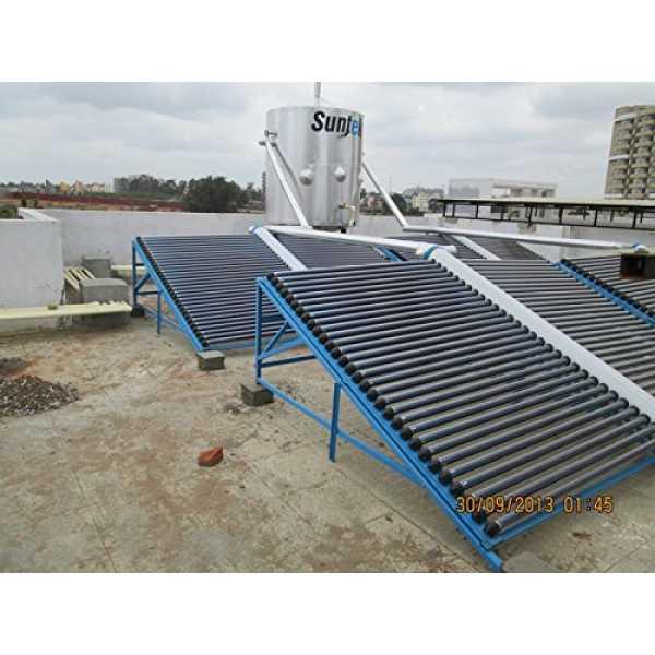 Suntek Energy 100 Litres Metal Solar Water Heater - Multicolor