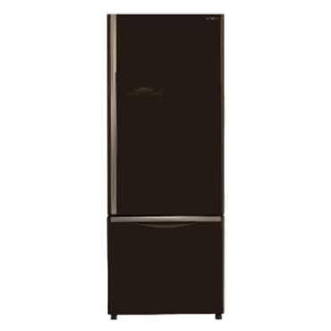 Hitachi R-B500PND6 466L Double Door Refrigerator - Brown | Black