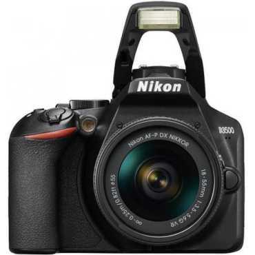 Nikon D3500 (18-55 mm f/3.5-5.6G VR) & NIKKOR (70-300mm f/4.5-6.3G ED VR) DSLR - Black