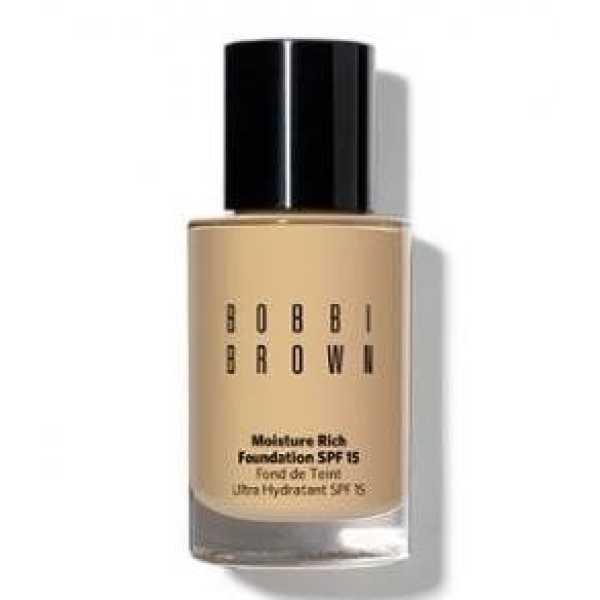 Bobbi Brown Moisture Rich Foundation Spf15 (4.5 Warm Natural)