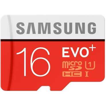 Samsung EVO Plus 16GB MicroSDHC Class 10 80MB s UHS-1 Memory Card
