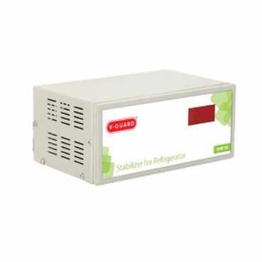 V-Guard VEW-500 Plus Voltage Stabilizer - White   Grey