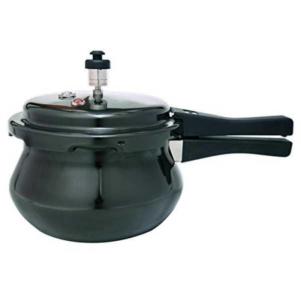 Wonderchef 60016900 Hard Anodized Handi 3.3 L Pressure Cooker ()Induction Base)