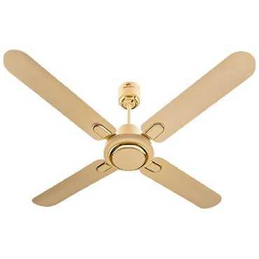 Bajaj Regal Gold 4 Blade (1200mm) Ceiling Fan - White   Gold