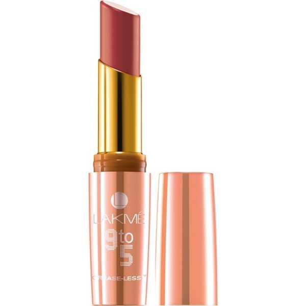 Lakme  9 to 5 Crease-less Lipstick (Crimson Call)