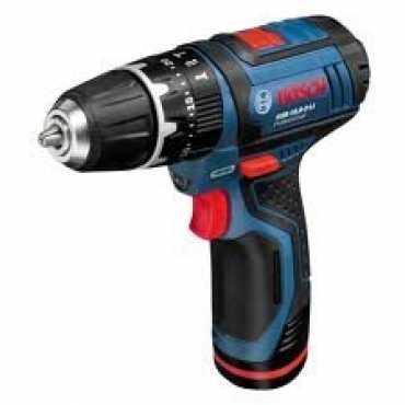 Bosch GSB 10,8-2-Li Professional Cordless Impact Drill Driver - Black