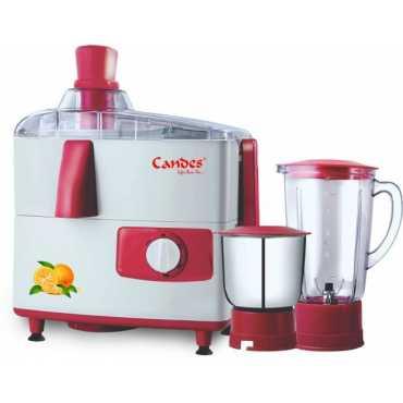 Candes JMG151 Supreme 500 W Juicer Mixer Grinder (2 Jars) - Red