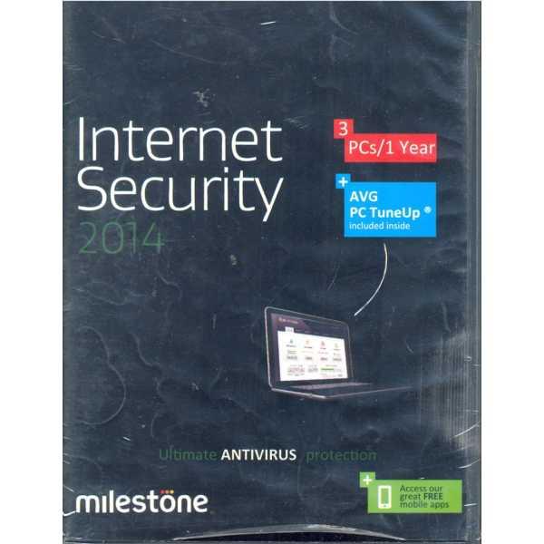 AVG Internet Security 2014 3 PC 1 Year