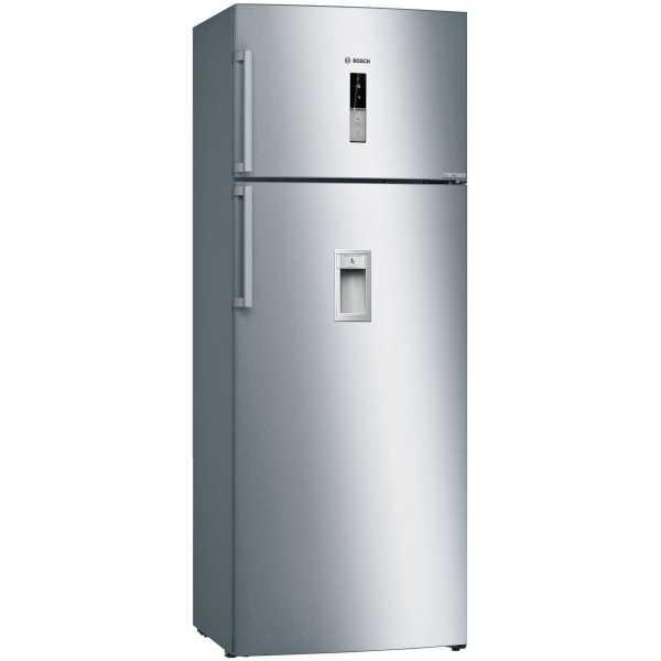 Bosch Kdd46xi30i 401 L 2 Star Inverter Frost Free Double Door Refrigerator - Softline Inox