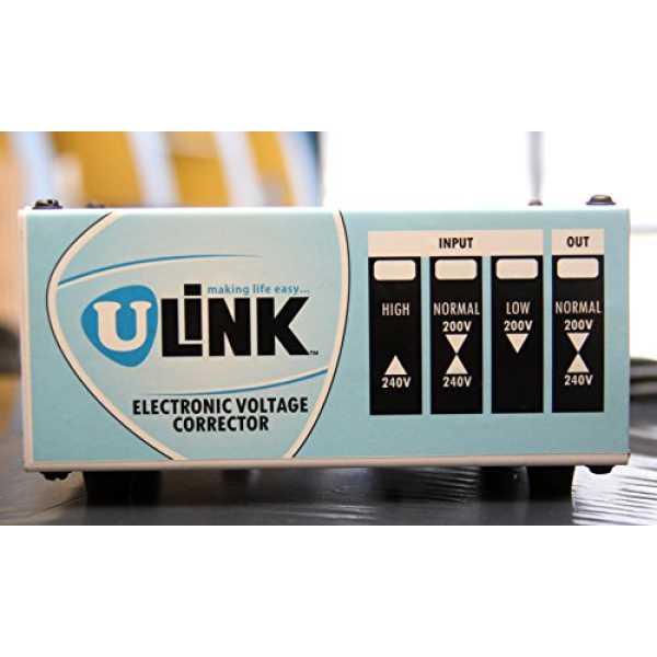 U-Link MX-500 V.A Voltage Stabilizer - White