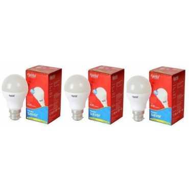 Ajanta 5W B22 630L LED Bulb  (White, Pack of 3) - White