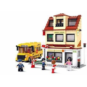 Sluban Lego School Bus