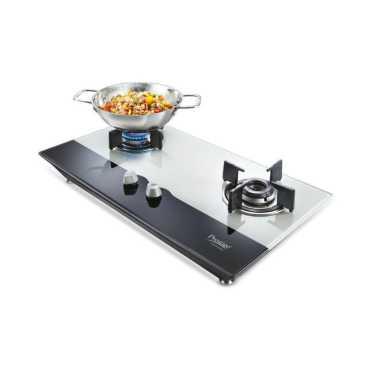 Prestige PHTS-02 AI 2 Burner Glass Gas Cooktop