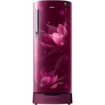 Samsung RR22T382XR8 215 L 4 Star Inverter Direct Cool Single Door Refrigerator