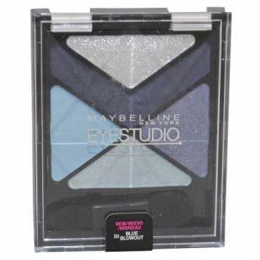 Maybelline Eye Studio Color Explosion Luminizing Eye Shadow (Blue Blowout 20) - Blue