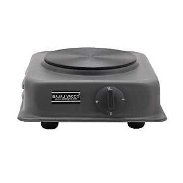 Bajaj Vacco HPT-02 Electric Tawa Hot Plate 1500W Cooktop - Black