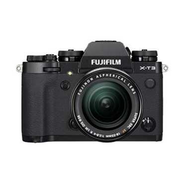 Fujifilm X-T3 Mirrorless Digital Camera (With 18-55mm Lens) - Black