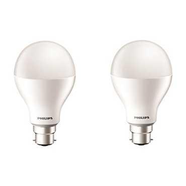 Philips 17W B22 2000L LED Bulb (Cool Day Light, Pack of 2) - White