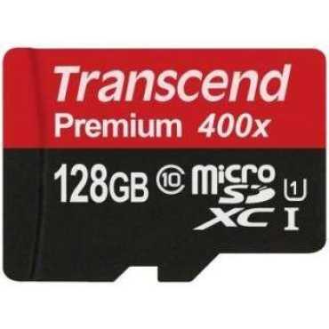 Transcend TS128GUSDU1 128GB Class 10 MicroSDXC Memory Card