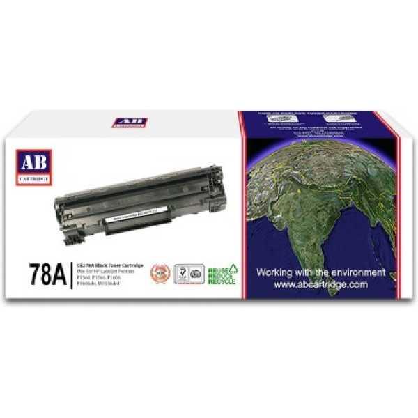 AB Cartridge 78A / CE278A Black Toner Cartridge - Black