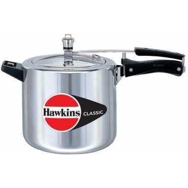 Hawkins Classic B40 Aluminium 6.5 L Pressure Cooker (Inner Lid)
