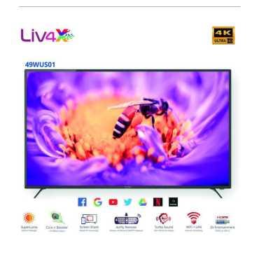 Wybor 49WUS01 49 4K Ultra HD Smart LED TV