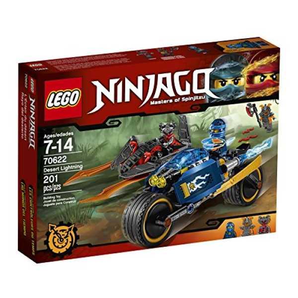 LEGO Ninjago Desert Lightning 70622 Building Kit (201 Piece)